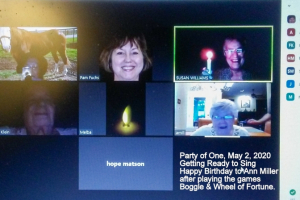 Party Of One Plays Games - on Zoom!